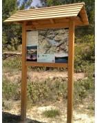 Paneles Informativos / Carteles para rutas y parajes naturales